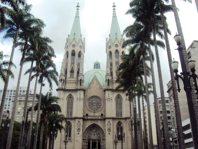 La Catedral da Sé de Sao Paulo
