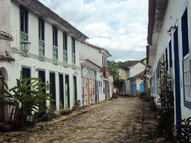 Le centre-historique de Paraty au Brésil