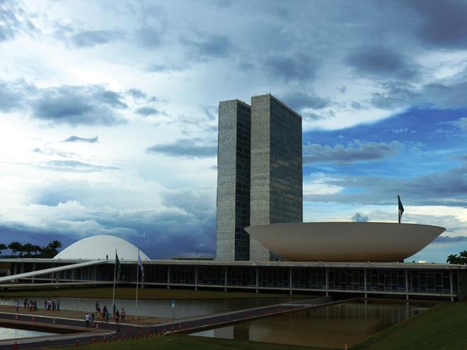 Le Congresso Nacional de Brasilia