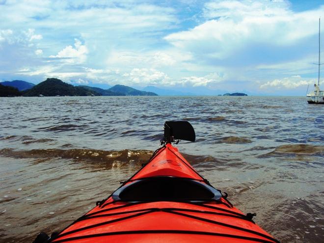 Ce n'est pas tous les jours que l'on fait 12 km de kayak de mer (Brésil)