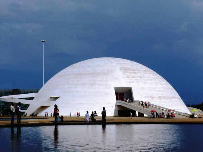 L'étonnant Museu Nacional de Brasília