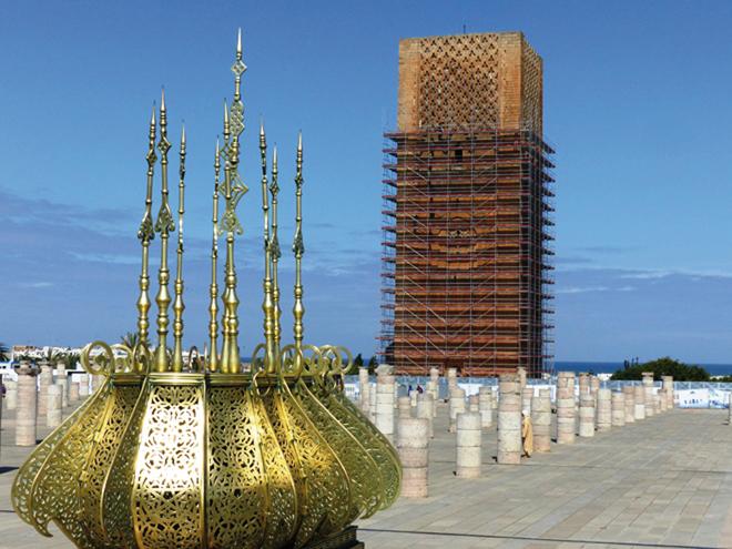 La tour Hassan de Rabat