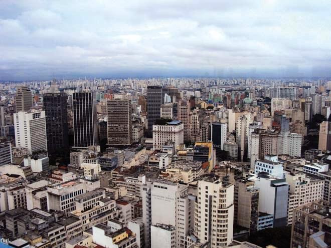 Panorama sur Sao Paulo