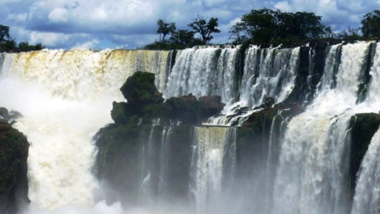 les chutes bresilienne iguazu