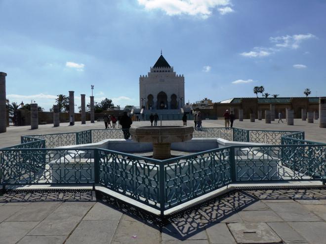 Le mausolée Mohammed-V à Rabat