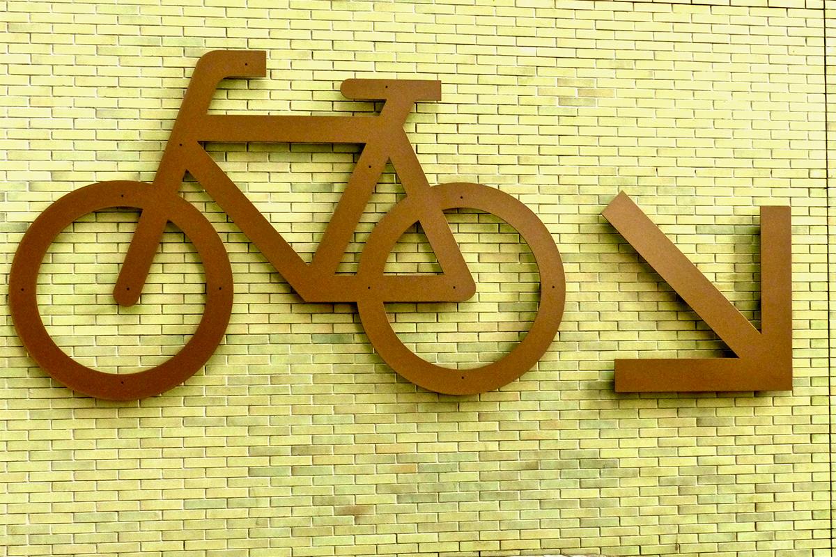 Amsterdam velo panneau