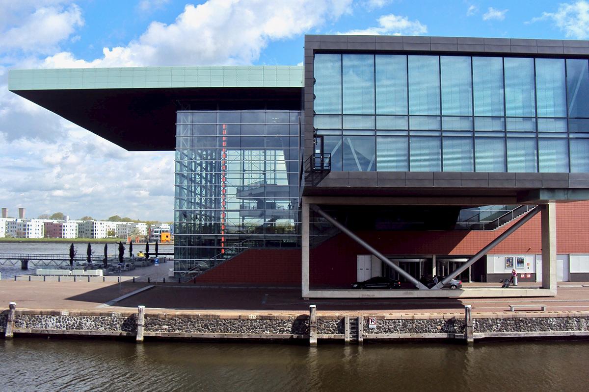 Bimhius salle de concert Amsterdam velo