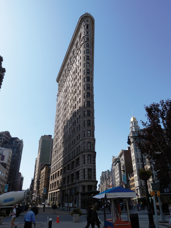Flatiron Building New York USA