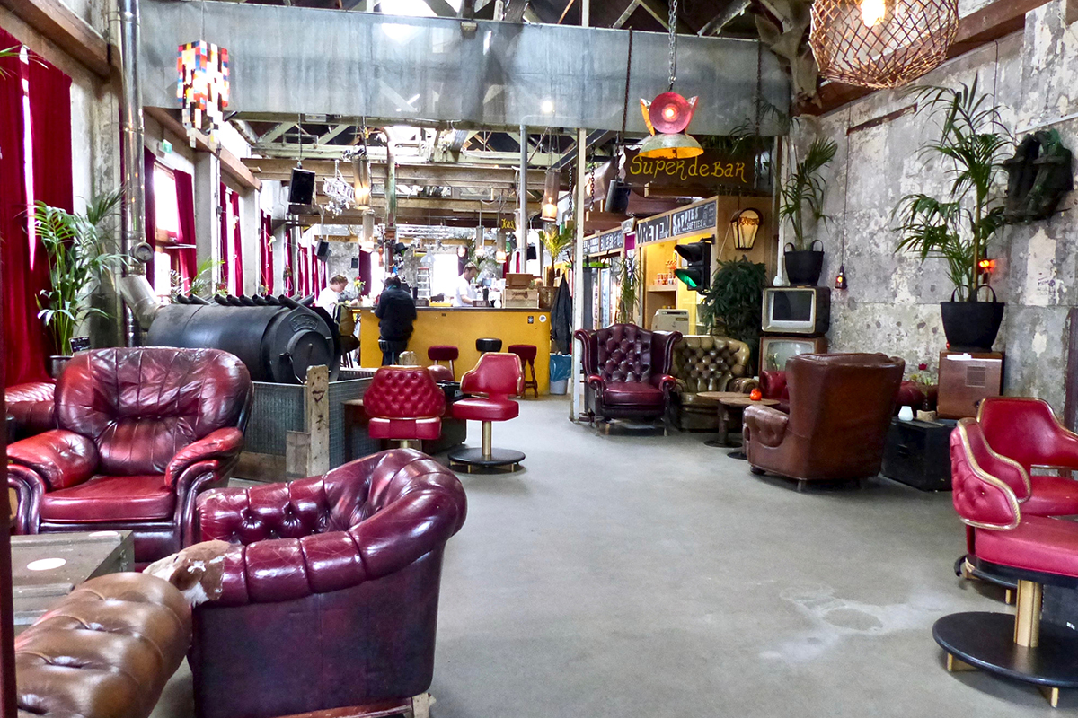 Interieur Roest Amsterdam velo