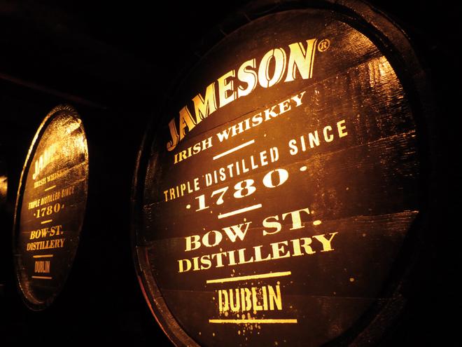 Visiter Dublin Planete3w distillerie Jameson