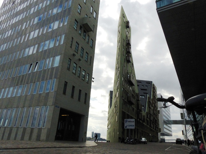 Un mini-Flatiron à Amsterdam