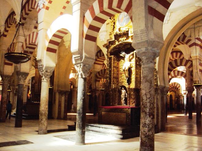 Le mélange entre architecture orientale et occidentale est magique
