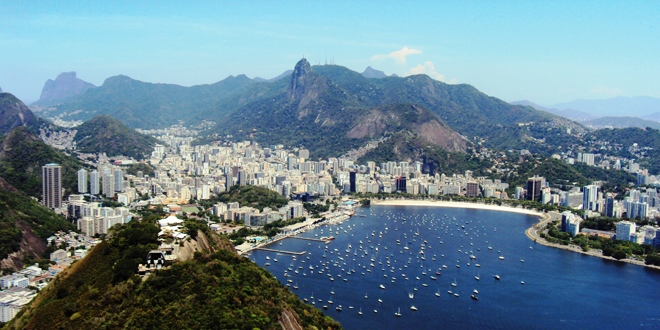 Vue sur Rio de Janeiro au Brésil