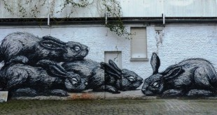 L'oeuvre majeure de Roa dans les rues de Gand