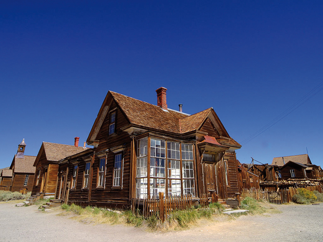Bodie la ghost town par excellence dans l'Ouest américain