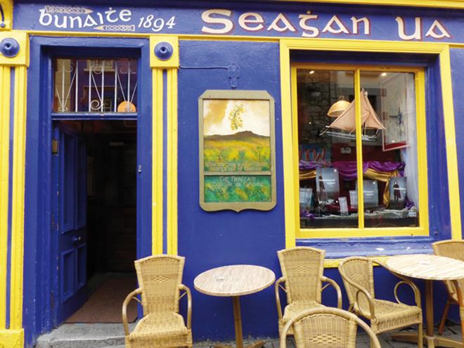 Tigh Neachtain ,le plus ancien pub de Galway