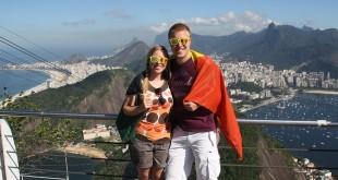 Photo souvenir de notre passage à Rio de Janeiro