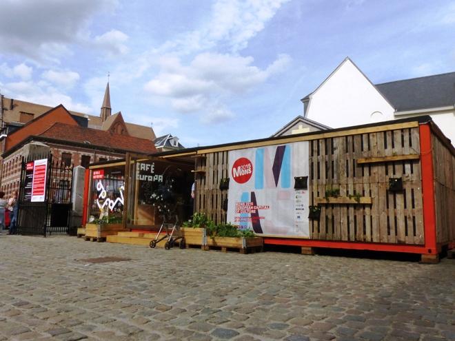 Le Café Europa un lieu très chaleureux installé pour Mons 2015