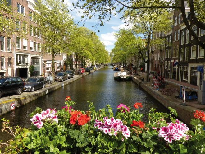 Le Jordaan un quartier très agréable à Amsterdam