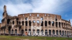 Citytrip 4 jours à Rome