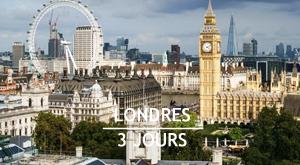 Citytrip : 3 jours à Londres