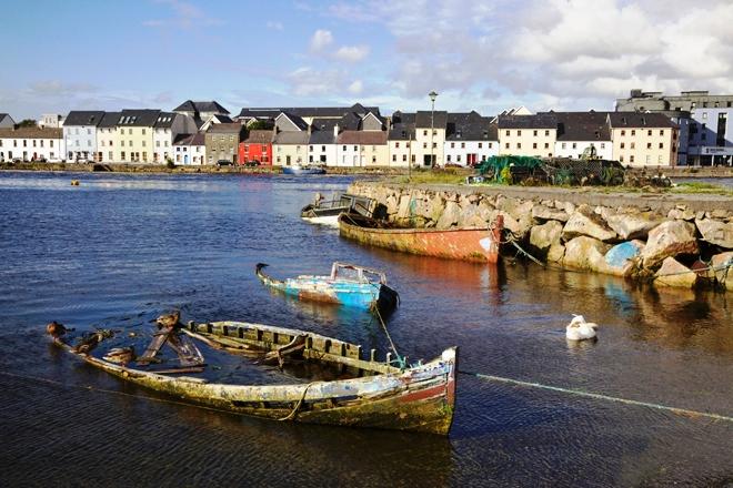 Les maisons colorées de Galway
