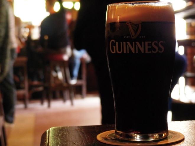 Rien de mieux qu'une bonne guinness en fin de journée à Galway