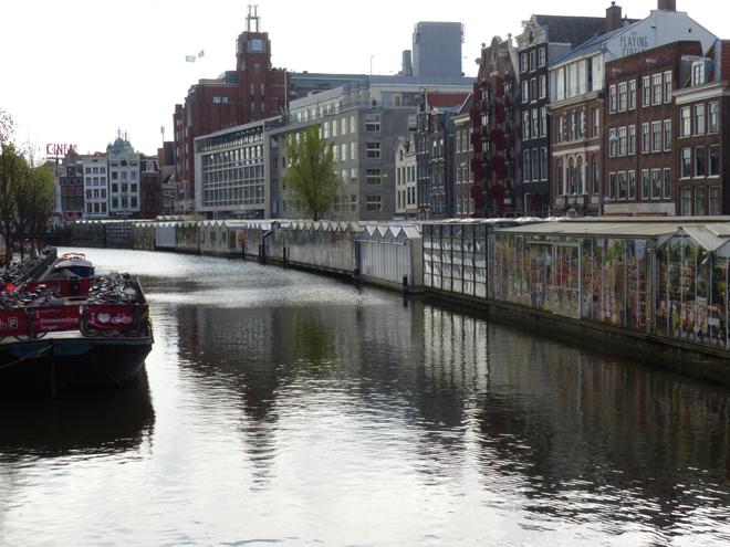 Le décevant marché aux fleurs d'Amsterdam