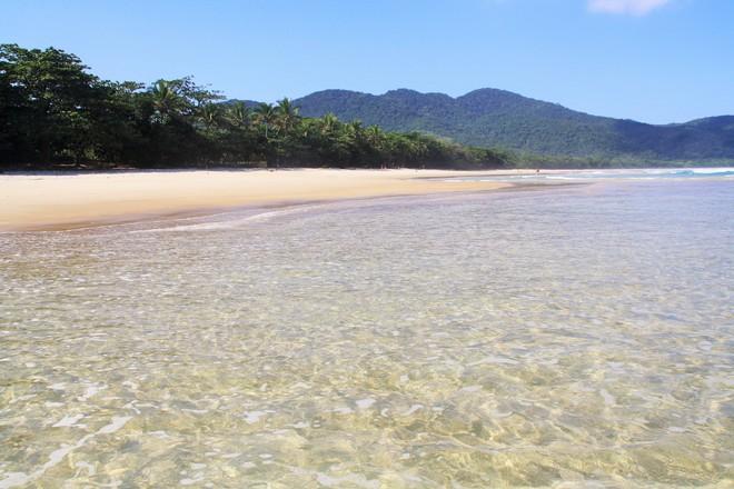 La magnifique plage de Lopes Mendes d'Ilha Grande.