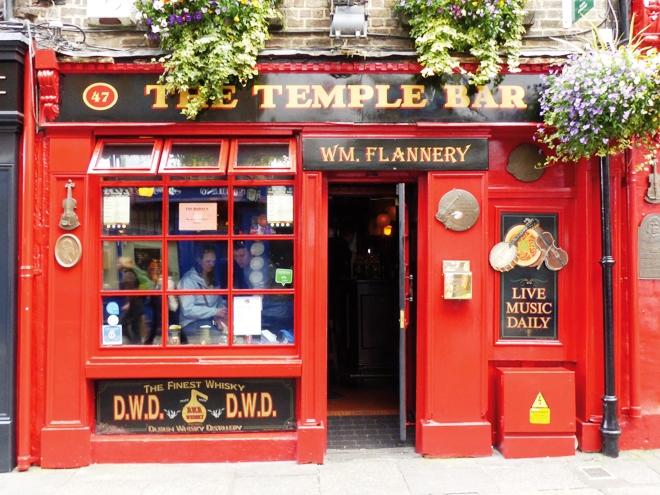 Temple bar l'une des adresses mythiques du quartier Temple Bar
