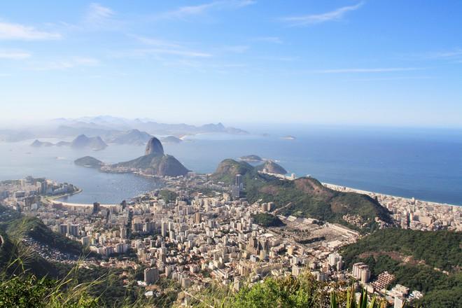 Vue sur Rio depuis le Corcovado