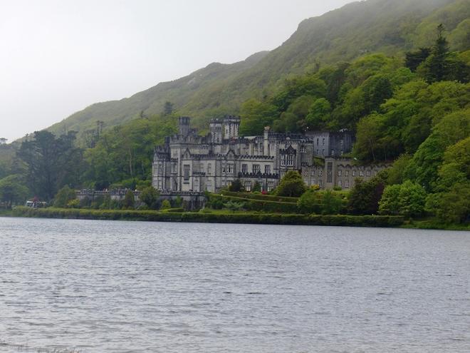 L'abbaye de Kylemore dans le Connemara en Irlande