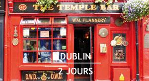 Citytrip : 2 jours à Dublin