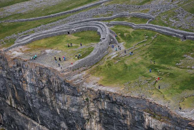 Dùn Aengus la principale attraction de Inis Mór en Irlande