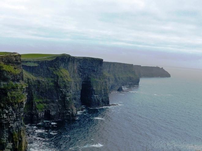 Les impressionnantes falaises Moher en Irlande