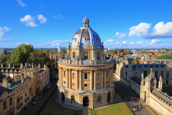 Oxford l'une des villes les plus populaires pour les séjours linguistiques