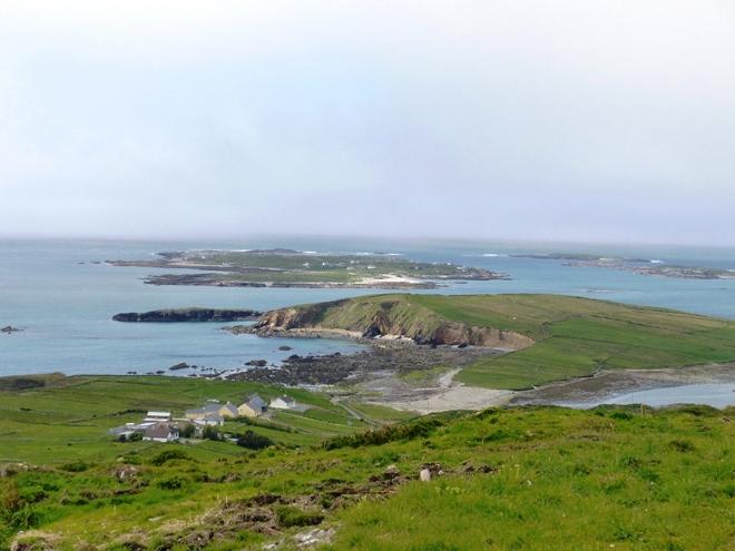 Un paysage à couper le souffle depuis la Sky Road dans le Connemara