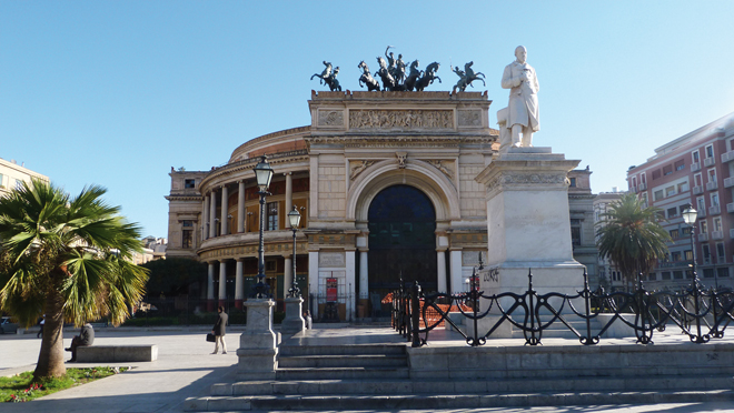 Le theatre de Palerme