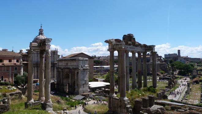 Site archéologique le plus important de Rome : Le Forum Romain