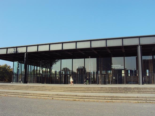 La Neue Nationalgalerie à Berlin