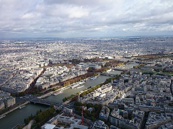 Vue depuis Tour Eiffel