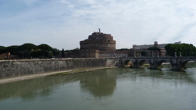 Le château Saint Ange à Rome