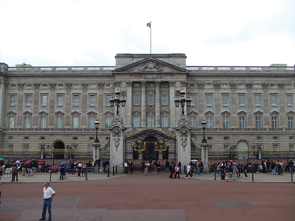 Le Palais de Buckingham Palace Londres