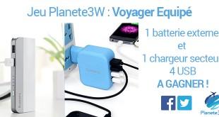 Jeu concours Voyager Equipé
