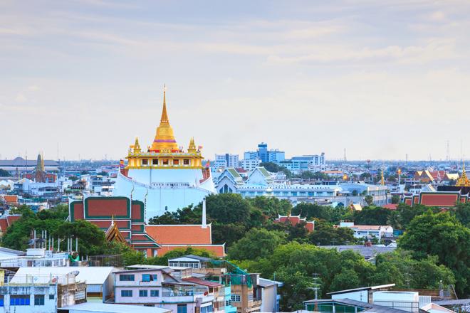 Le Wat Saket, le temple de la Montagne d'Or