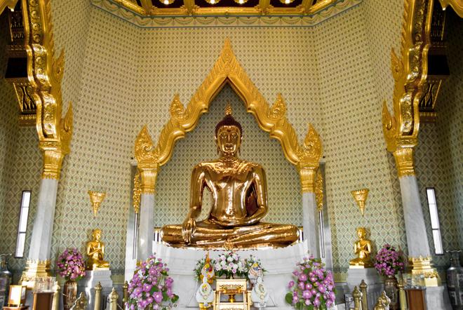 Le Wat Traimit, le temple du Bouddha d'or