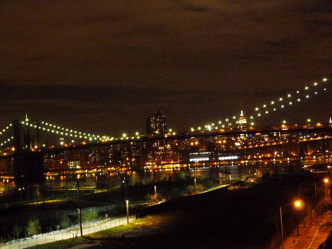 Vue sur New York depuis la Promenade de Brooklyn Heights