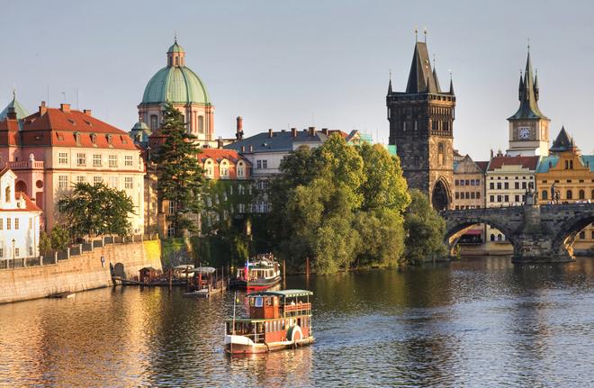 Le pont Saint Charles à Prague