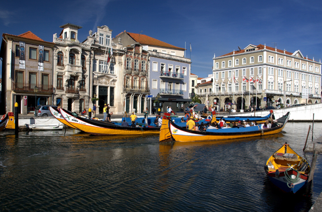 Aveiro la Venise du Portugal