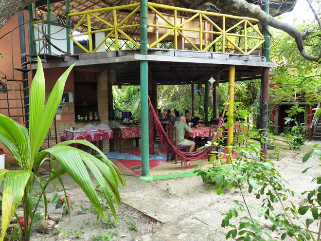 L'auberge de jeunesse Eco Hostel Lujimba à Imbassai